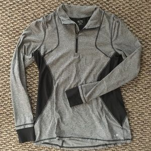 long-sleeve activewear shirt